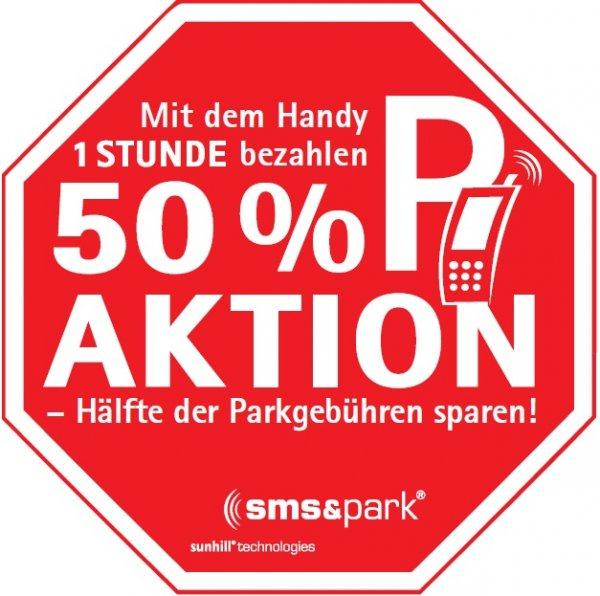 sms&park startet 50%-Aktion für 1-Stunden-Tickets in Fürth und Köln