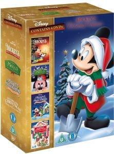 (UK) Mickey Mouse Christmas Collection [4 x DVD] für 9,46€ @ Zavvi (teilweise mit deutschem Ton)