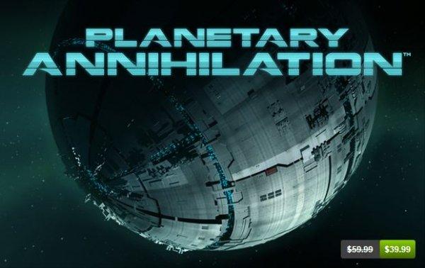 [Steam] Planetary Annihilation (Beta) für ungefähr 31€ statt 54,99€