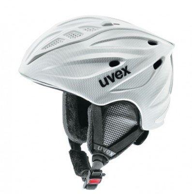 fast, aber nur fast genial | Skihelm Uvex Comanche carbon look white ALLE Grössen zu 35€ @sportwelt Scherer