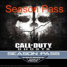 Call Of Duty Ghosts Season Pass  KEY STEAM  ca. 26 € Türkei Ebay mit paypal