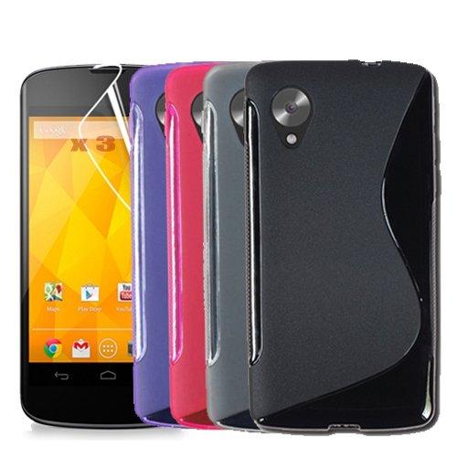 Nexus 5  Silkion Cases 4x + Schutzfolien 3x (inkl Versand)