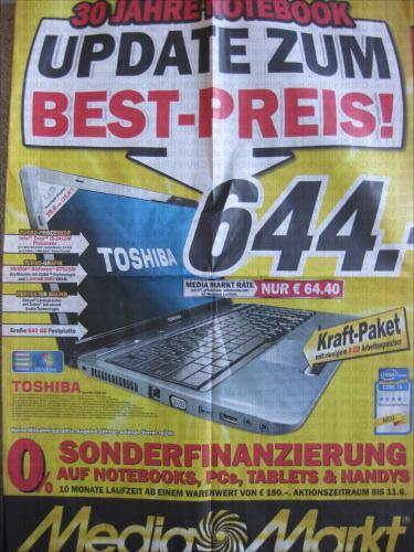 Media Markt Multimedia-Prospekt gültig ab 03.06.11 - PC - Notebook & Zubehör, Smartphones, Games, iPad, Navi