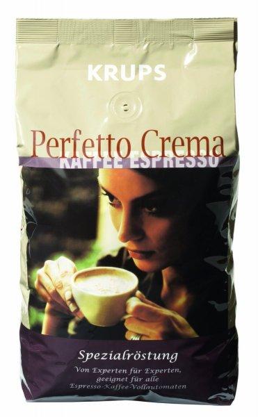 KRUPS Espresso Kaffee Perfetto Crema 1 KG Bohnen @ Saturn.de für EUR 5,00
