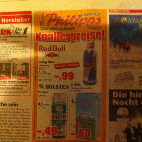 Red Bull 0,33 Liter für 0,99€ exkl. Pfand