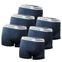 6er Pack Kappa Herren Boxer Shorts Nazario 2 für 24,99€ frei Haus - verschiedene Farben und Größen