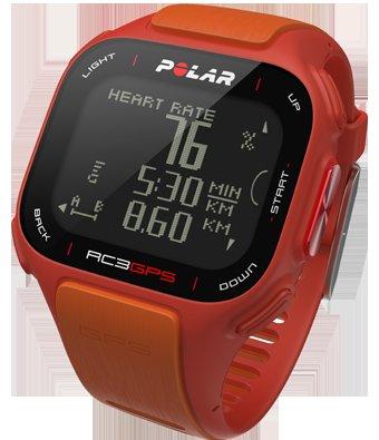 Polar RC3 GPS Sportuhr inkl. Herzfrequenz-Sensor