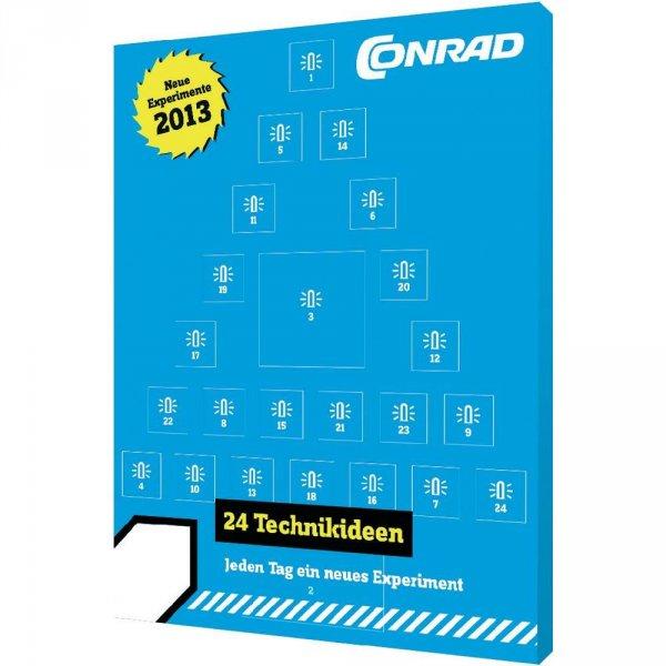 (Wieder verfügbar) Conrad Elektronik-Adventskalender 2013 für 9,95€  @ ebay