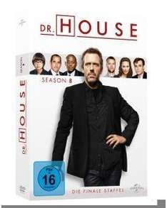 Dr. House Staffel 8 auf DVD bei Thalia für nur 14,99€