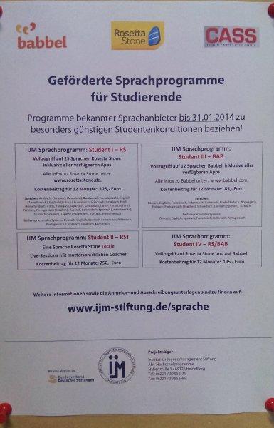 Rosetta Stone Sprachprogramm Jahreszugang 25 Sprachen für Studenten nur 125,- € (statt 299,- € für eine Sprache)