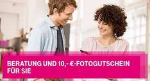 Telekom - Individuelle Beratung = 10,- €-Fotogutschein (gratis Produkte möglich)