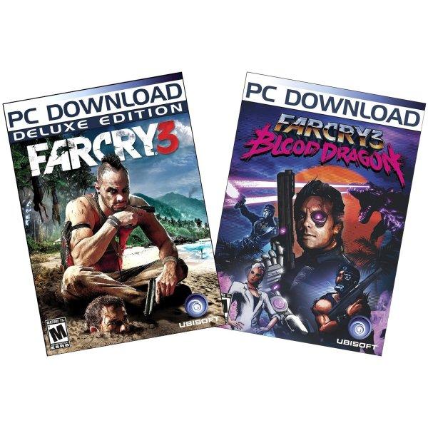 Far Cry 3 Deluxe + Far Cry 3 Blood Dragon Bundle (Uplay) für 18,58€ @Amazon.com