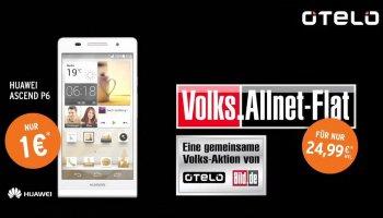 Mehr Flat fürs Volk - D-Netz Allnet Flat (ohne SMS) für effektiv 15,03 Euro monatlich