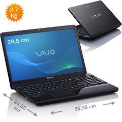 Sony Vaio VPC-EB4E9E (generalüberholt)  für 399 € bei Ebay