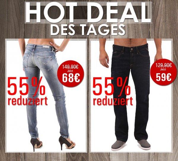 Replay Jeans bei Brands Store mit 55% Rabatt