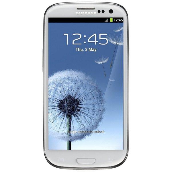 Samsung Galaxy S3  für 266,00 EUR.