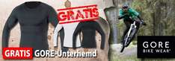 GORE BIKE WEAR kaufen – Base Layer Thermo Unterhemd geschenkt!