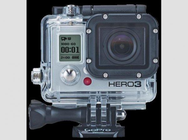 GoPro HD Hero 3 Silber für 199.- € bei Saturn.de