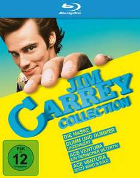 [Blu-Ray] Jim Carrey Collection [Amazon.de]