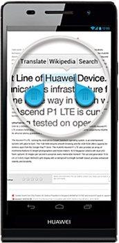 Huawei Ascend P6 Schwarz 251,95 €