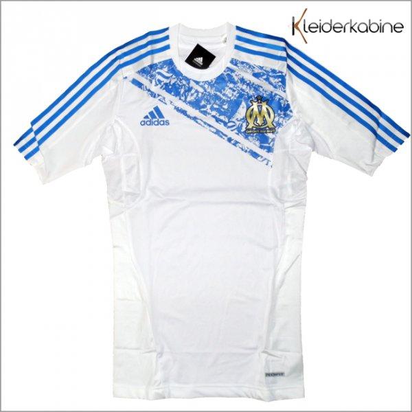 Adidas Olympique Marseille Tech-Fit Fußball Trikot für 17,99 Euro inkl. Porto.