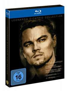 Leonardo Di Caprio  Collection (exklusiv bei Amazon.de) [Blu-ray] o. Vsk für 24,97 € @ amazon.de(WIEDER DA)