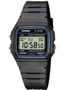 [Amazon] Casio Collection Herren-Armbanduhr Digital Quarz F-91W-1YEF ohne VSK!