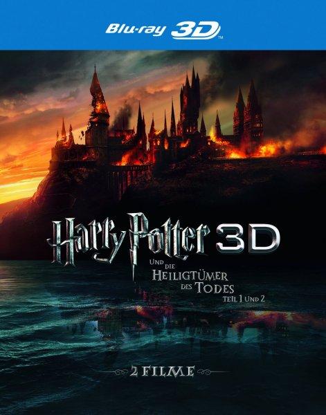 Harry Potter und die Heiligtümer des Todes, Teil 1 und 2 [Blu-ray 3D] (6-Discs)o. Vsk für 19,97 € @ amazon.de