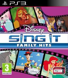 Disney Sing It Family Hits [UK Import] bei Amazon für 9,99 Euro