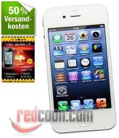 Apple iPhone 4s 16GB weiß + Ultra Glass Displayschutz