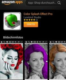 [ANDROID /Amazon]  gratis App: Color Splash Effect Pro