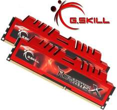 G.SKill RipjawsX 16GB Kit DDR3 PC3-10666