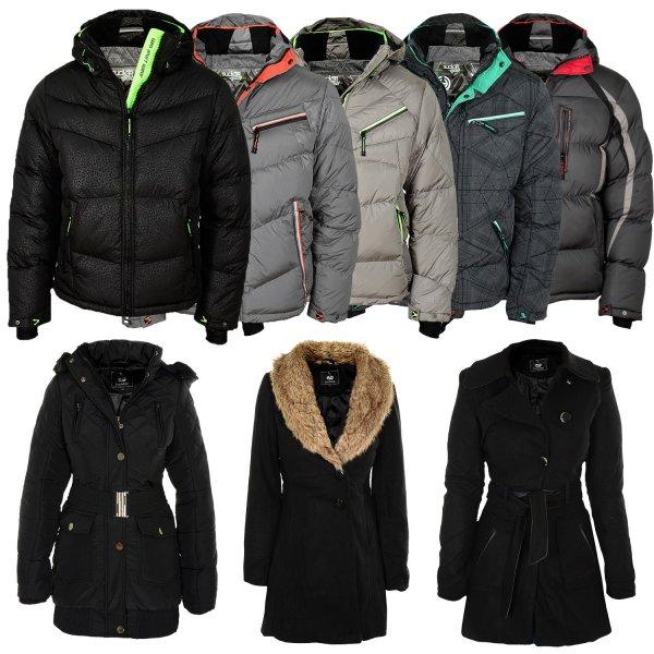 Winterjacken Ebay Herren und Damen