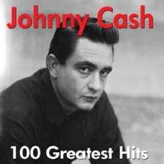 Preissturz !!! Amazon MP 3 Album: Johnny Cash - 100 Greatest Hits - The Very Best Of - Nur noch 3,91 €