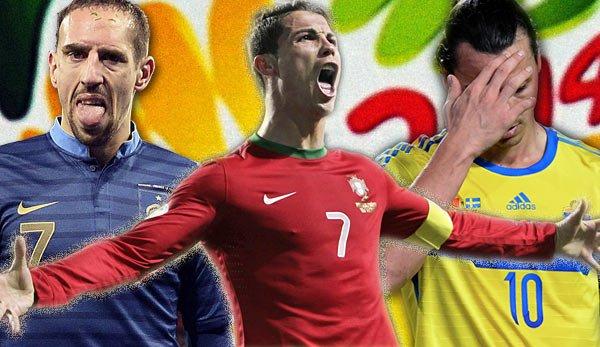 WM-Playoff Rückspiele SWE-POR und FRA-UKR im Spox Live Stream