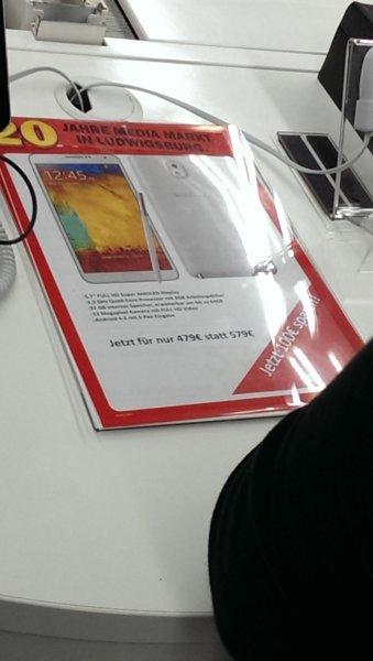 (lokal) Galaxy Note 3 für 479 Euro