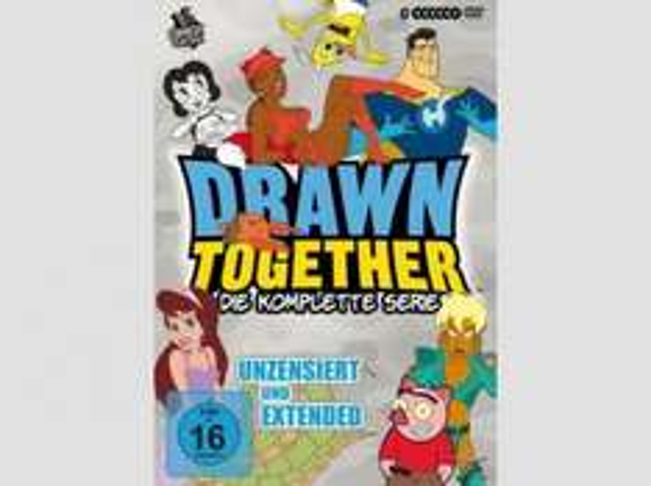 Drawn Together (die komplette Serie) auf deutsch für 18,99€