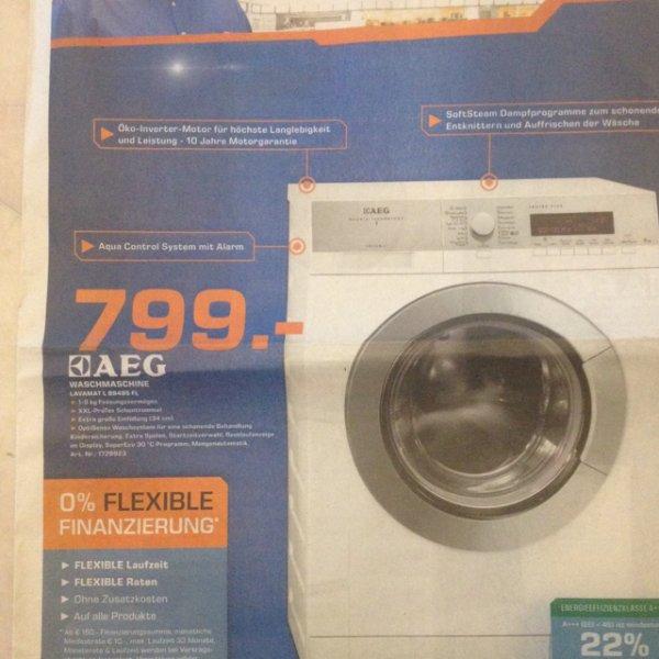 [lokal Bremen?] Waschmaschine AEG Lavamat L89495FL 799,-€ @Saturn