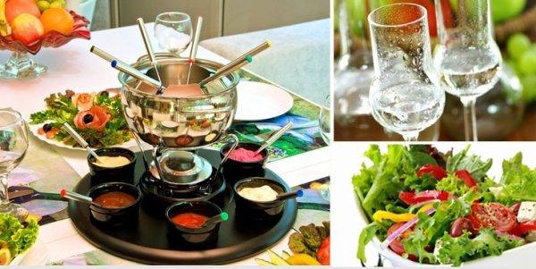 Fleischfondue & großer Salatteller & ofenfrisches Brot & Schnaps für 2 Pers. im Weitmanns Waldhaus für 25,90 € (Neukunde 20,90€) statt 52,80 € in Stuttgart