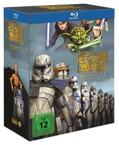 Star Wars: The Clone Wars - Komplettbox Staffel 1-5 (exklusiv bei Amazon.de) [Blu-ray] für 79,99 € @ amazon.de
