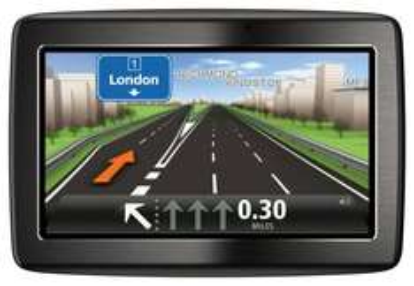 TomTom Via 125 Navigationsystem (5 Zoll) Touchscreen, TMC, Bluetooth, Sprachsteuerung, Parkassistent, IQ Routes, Europa 45)  für 101€ @Amazon.co.uk