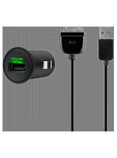Belkin Micro USB Car Charger inkl. 30-Pin Sync-/Ladekabel für 5€ @Vodafone