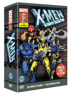 X-Men – Ultimate Collection [DVD] – 16,94 EUR [Amazon UK]