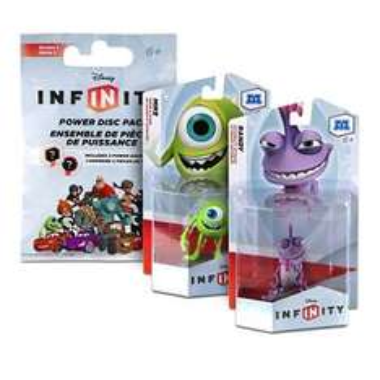 Beim Kauf vom Film Monster Uni und eines weiteren Disneyfilms Infinity Figur gratis