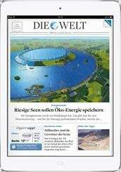 Die Welt Abo mit iPad Air!