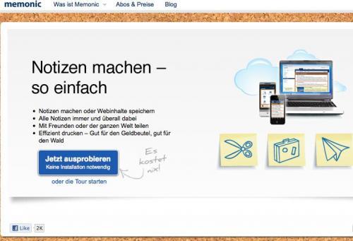 Lebenslanger Premium Memonic-Account (wie Evernote) für 3,33 Euro in der Computerbild