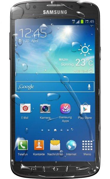 Samsung I9295 Galaxy S4 Active Smartphone (12,7 cm (5 Zoll) FHD TFT-Touchscreen, 1,9GHz, Quad-Core, 2GB RAM, 16GB interner Speicher, 8 Megapixel Kamera, LTE, Android 4.2) grau