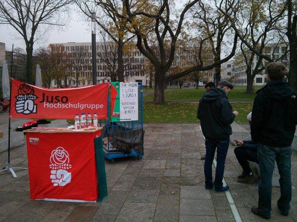 Kostenlos Wasser Campus Westend Frankfurt (Main) [Lokal]