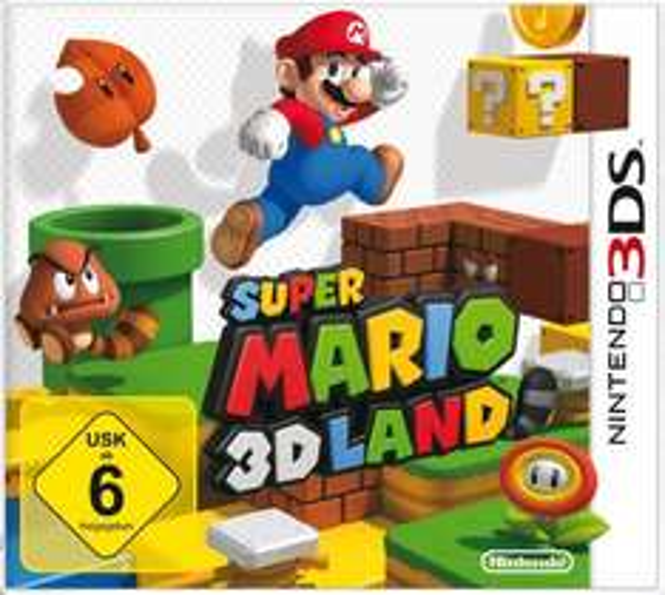 Nintendo 3DS- oder Nintendo 3DS XL-System sowie eines von 15 teilnahmeberechtigten Spielen registrieren und SUPER MARIO 3D LAND kostenlos downloaden