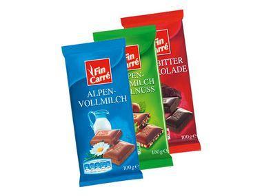 OFFLINE: Schokolade bei LIDL für 25 Cent!